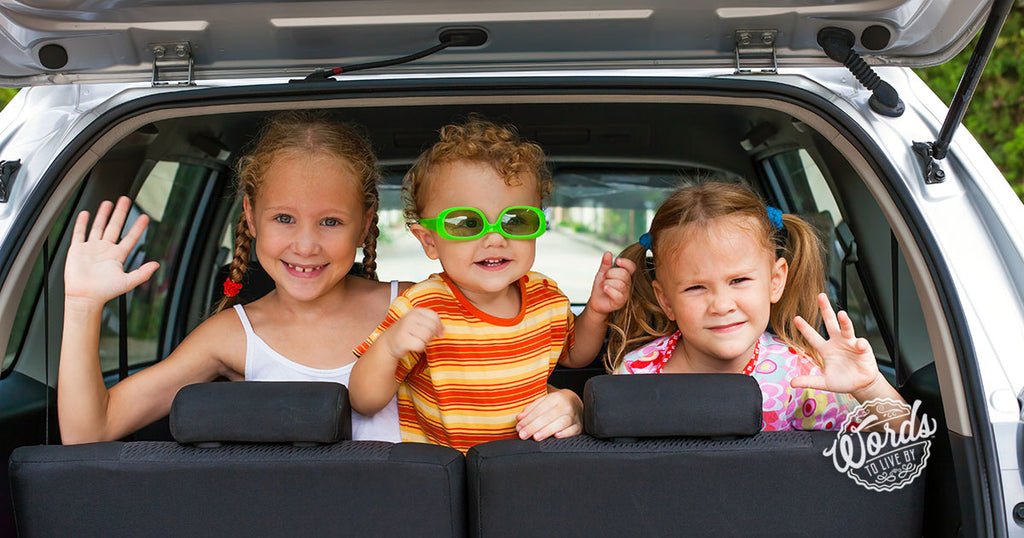 """Are we there yet?"" Labor Day road trip tips for keeping kids busy"