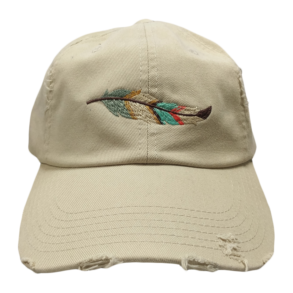 Vibe Tribe Feather Hat