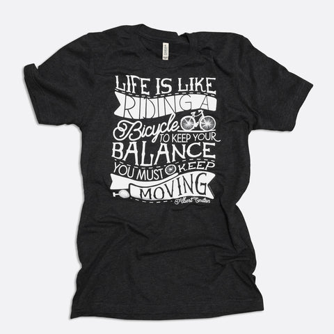 Life is Like Riding a Bicycle Short-Sleeve T-Shirt