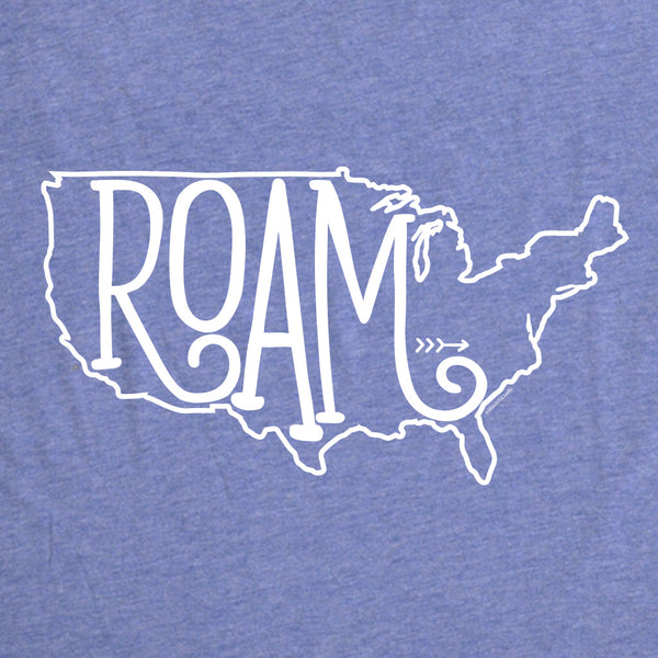Roam United States T-Shirt Blue