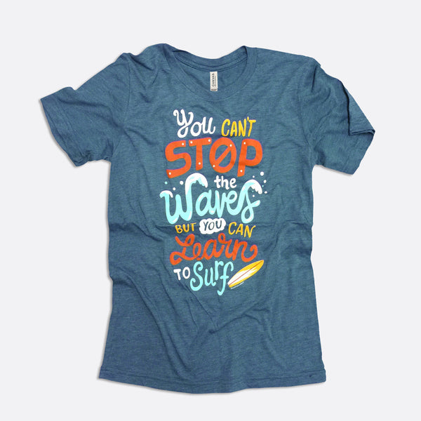 Learn to Surf Short-Sleeve T-Shirt