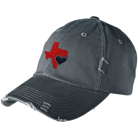 Texas Love Distressed Hat