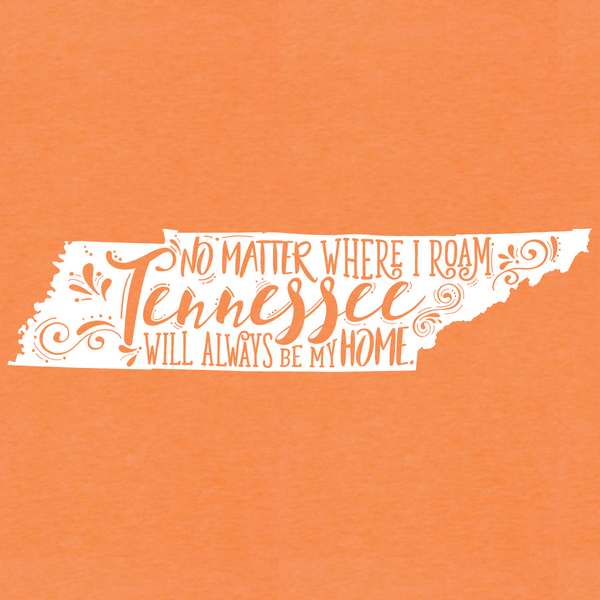 Tennessee Roam T-Shirt Close Up