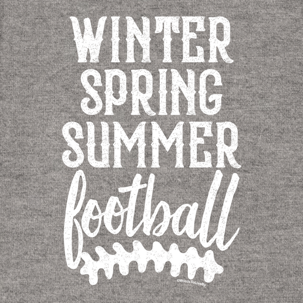 Winter Spring Summer Football