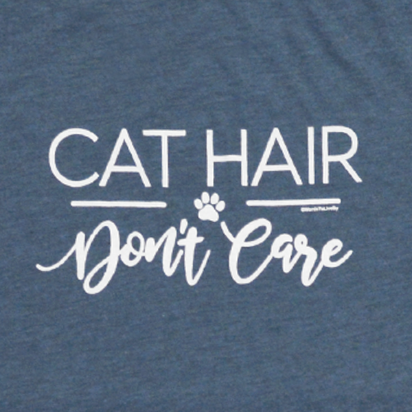 Cat Hair Don't Care Short-Sleeve T-Shirt