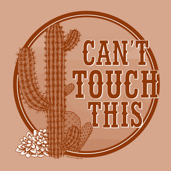 Can't Touch This Short Sleeve T-Shirt Close Up
