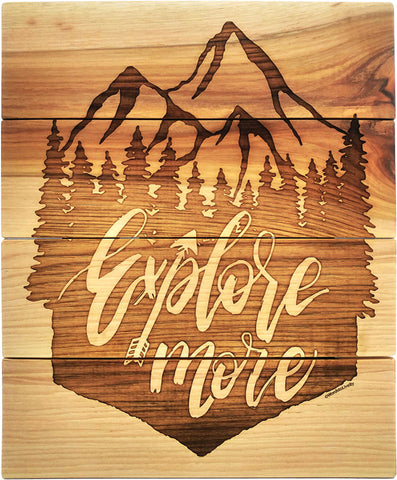 Explore More Wooden Sign