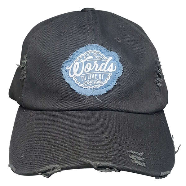 WTLB Distressed Logo Hat Nickel Front