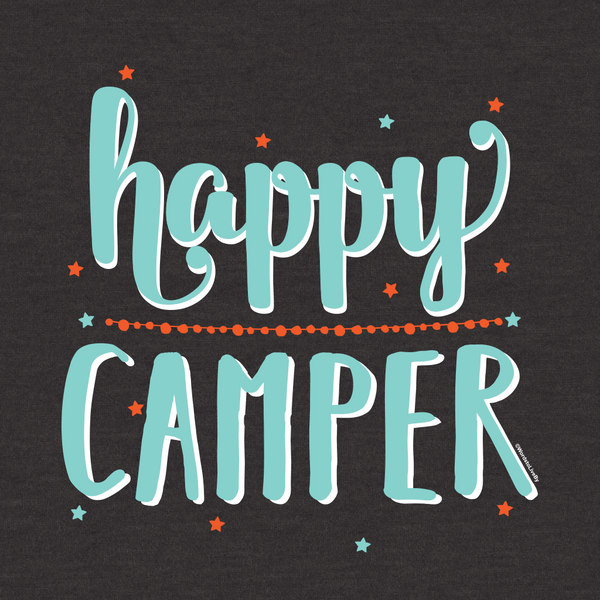 Happy Camper Toddler Short-Sleeve T-Shirt
