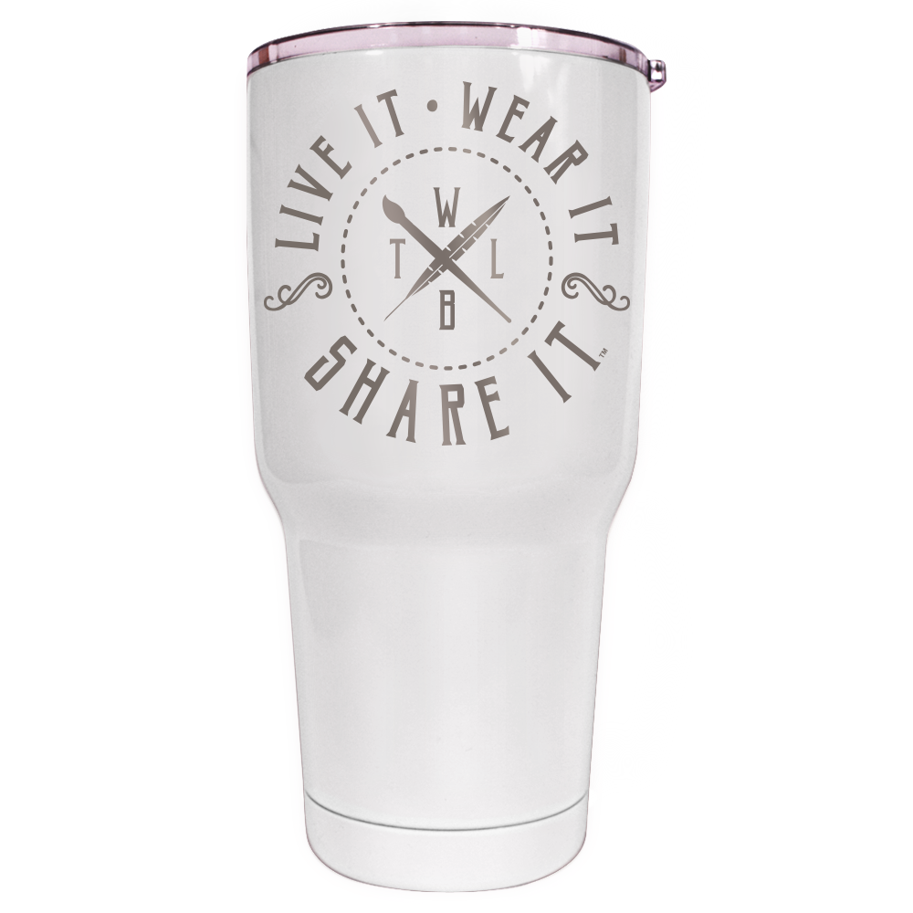 Live It Wear It Share It Tumbler
