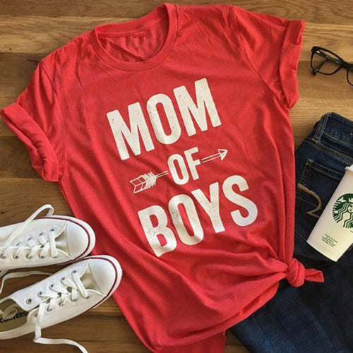 ***NEW ARRIVAL*** MOM OF BOYS t-shirt