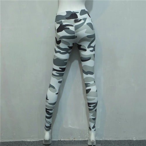 ***MUST HAVE*** Multi-Colored Camouflage Print Workout Leggings