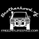 Brotherhood of 4WD Car Sticker