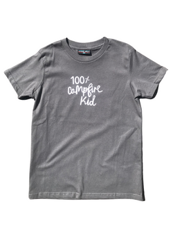 100% Campfire Kid - Children's T-Shirt