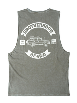Brotherhood of 4WD Club Patch Tank