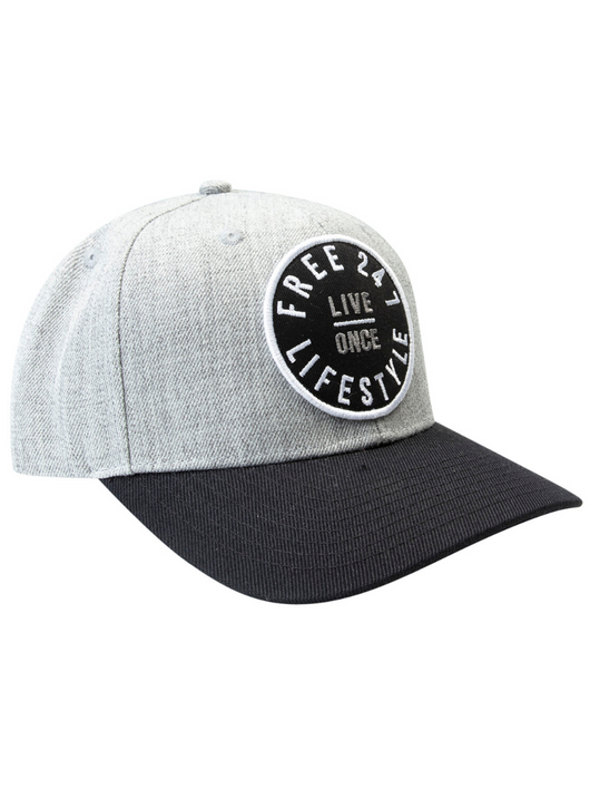 LIVE ONCE Snapback Cap