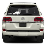 "Free 24 7 ""4x4 Battlewagon"" XL Sticker"