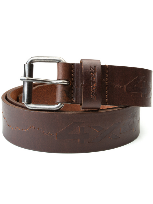 Old Telegraph Track - Genuine Leather Belt