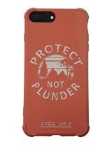 Protect Not Plunder - Biodegradable iPhone Case