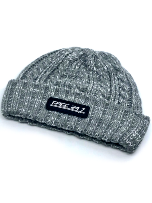 Core Logo Cable Knit Beanie