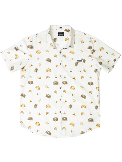 Good Van Shirt - Casual Short Sleeve Button Up