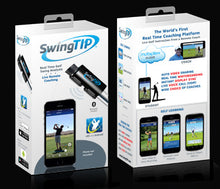 SwingTIP — Golf Swing Analyzer Sensor and App
