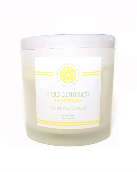 """Hard Lemonade"" Candles - BOB'S LIQUOR STORE"