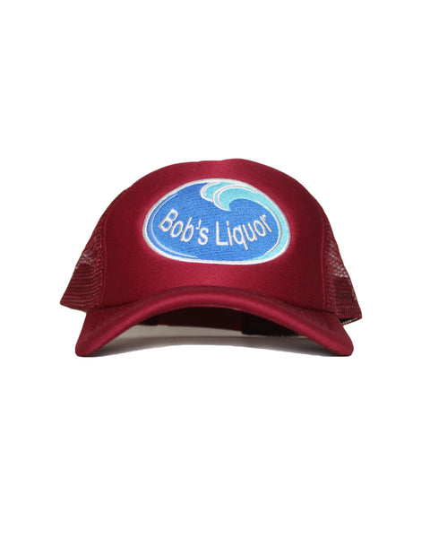"""Liquor Spray"" (Cranberry) Trucker Hat"