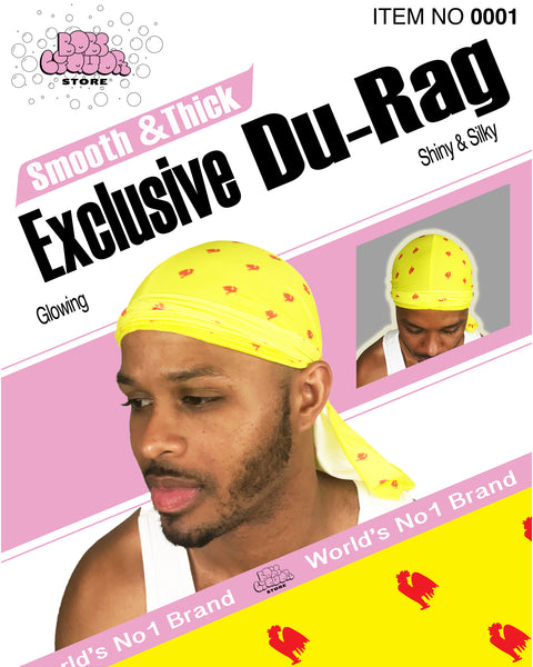 "Smooth & Thick Exclusive ""Hot Sauce"" Du-Rag"