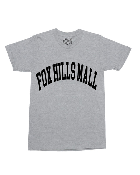 """Fox Hills Mall"" (Grey) Tee"