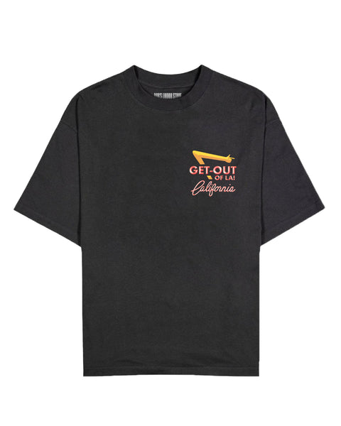 """Get Out Of LA 2020"" (Black) Tee"