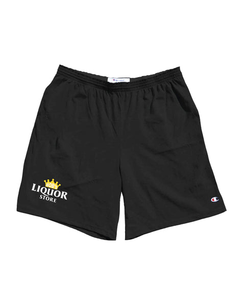 """Logo"" (Black) Shorts"