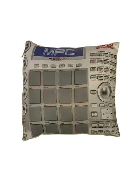 """MPC Beat Machine"" Pillow - BOB'S LIQUOR STORE"