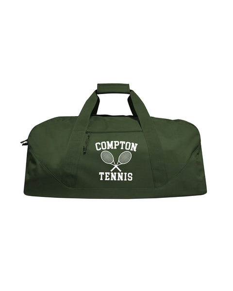 """Compton Tennis Club"" (Green) Duffle Bag"