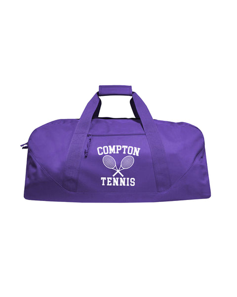 """Compton Tennis Club"" (Purple) Duffle Bag"