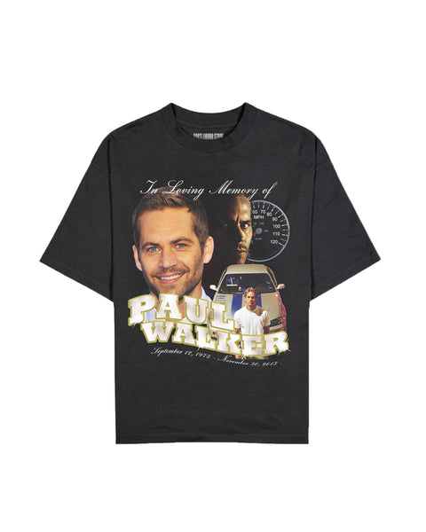 """Paul Walker"" Bootleg Tee"