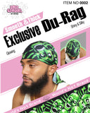 "Smooth & Thick Exclusive ""Skull Pile"" Du-Rag"