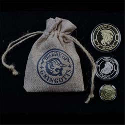 H.P. Gringotts Bank Coins