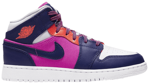 Air Jordan 1 Mid GS 'Fire Pink - 555112 602