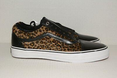 2012 VANS OLD SKOOL 92 PRO S JASON DILL AVE CHEETAH BLACK WHITE- VN-00ZS5QL-Urban Necessities
