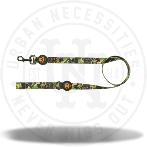 A BATHING APE BABY MILO ABC MILO LEASHES GREEN CAMO-Urban Necessities