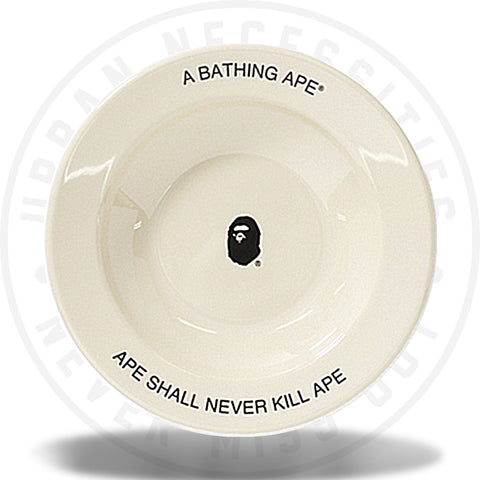 A Bathing Ape x Outdoor Collection Dish Plate Beige-Urban Necessities