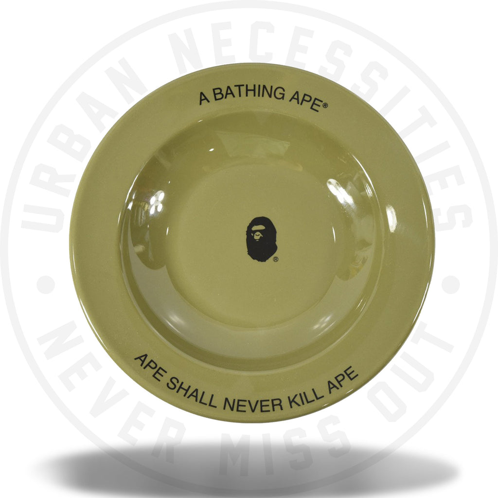 A Bathing Ape x Outdoor Collection Dish Plate Olive-Urban Necessities