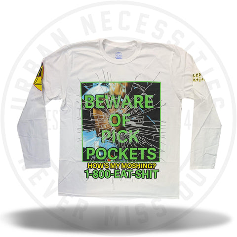 A$AP Rocky AWGE Beware of Pickpockets Tee-Urban Necessities