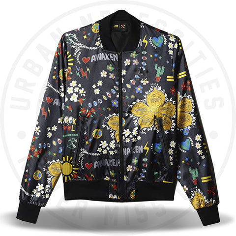 Adidas Consortium Pharrell Williams Printed Blouson Sweater-Urban Necessities