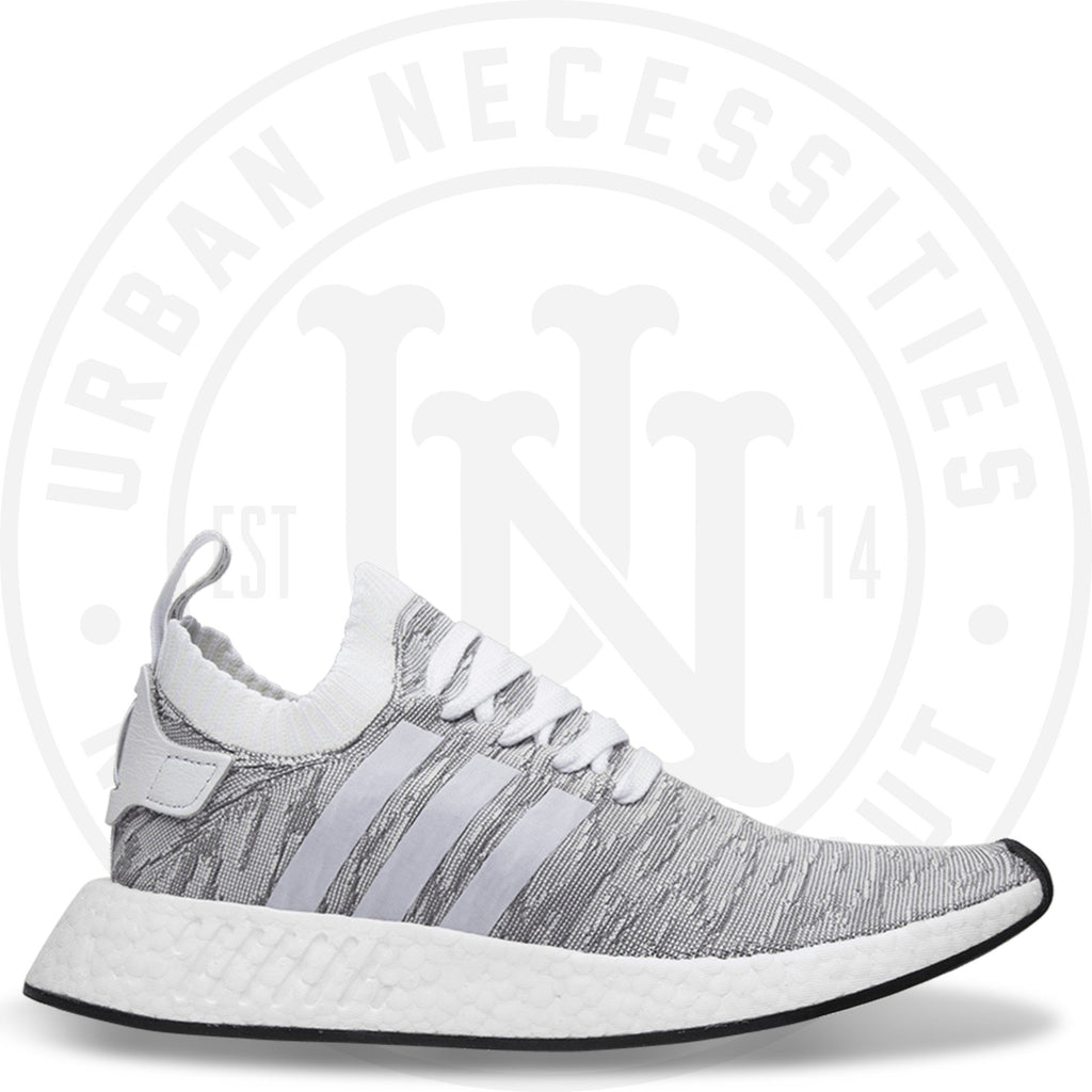 Adidas NMD R2 Primeknit 'Running White' - BY9410-Urban Necessities