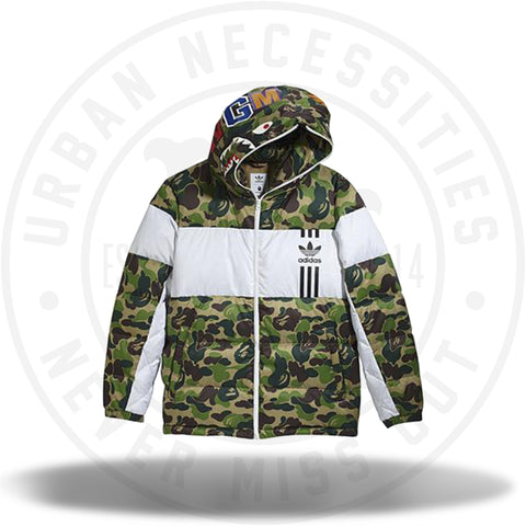 Adidas x Bape Down Jacket-Urban Necessities