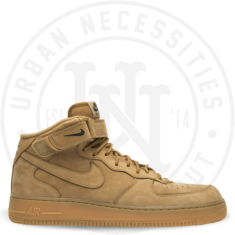 Air Force 1 Mid '07 PRM QS 'Flax' -715889 200-Urban Necessities