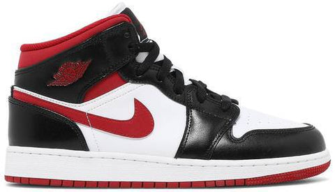 Air Jordan 1 Mid GS 'Black Gym Red' - DJ4695 122-Urban Necessities