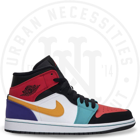 Air Jordan 1 Mid 'Multi-Color'-Urban Necessities